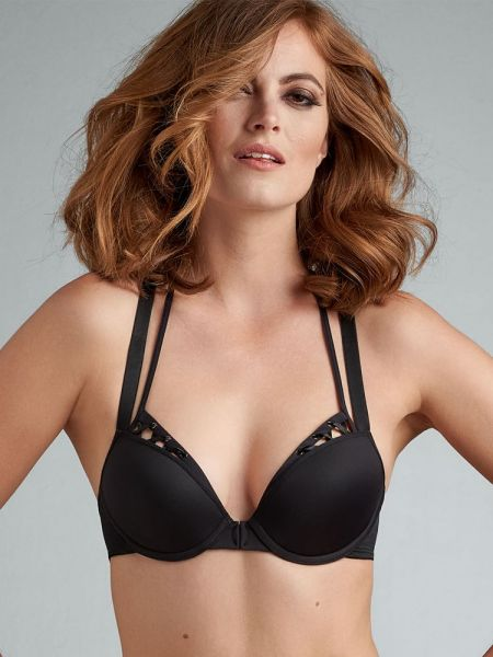 Marlies Dekkers Angel of Harlem: Padded Push-Up BH, schwarz