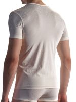 Olaf Benz PEARL1858: V-Neck-Shirt, champagne