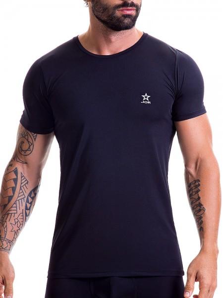 JOR Basic: T-Shirt, schwarz