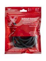 Xplay Gear Wrap Ring Slim: Cockring 2er Set, schwarz