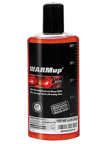 WARMup Massageöl: Kirsch (150ml)