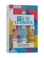 System JO Tri Me Classic: 3er Set Gleit-/Massagegel (3x 30ml)