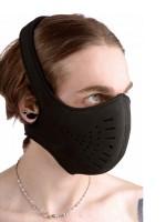 Master Series Neoprene Snap On Face Mask: Kopfmaske, schwarz