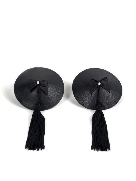 Bijoux Indiscrets Burlesque Tassel: Nipple Tassels, schwarz