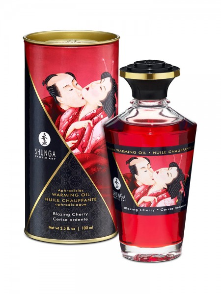 Shunga Intimate Kisses Öl Cherry: Körperöl (100ml)