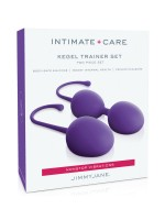 Jimmyjane Kegel Trainer Set: Liebeskugel-Set, lila