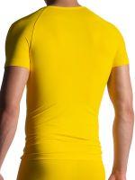 MANSTORE M800: V-Neck-Shirt, gelb