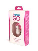 Sqweel Go: Zungenvibrator, weiß