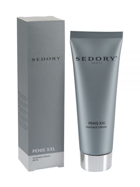 Sedory Men Penis XXL Massage Cream: Penispflegecreme (80ml)