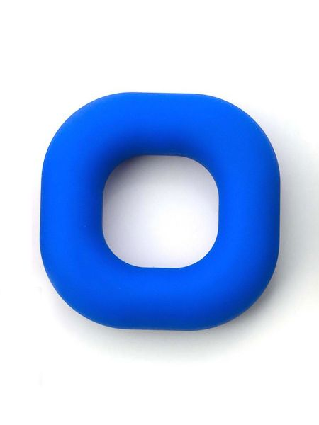 Sport Fucker Liquid Silicone Big Boner Ring: Penisring, blau