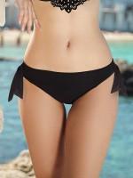 Anabel Arto: Bikini Slip, schwarz
