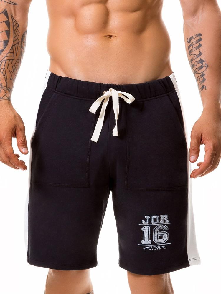 JOR Warrior: Lounge Short, schwarz