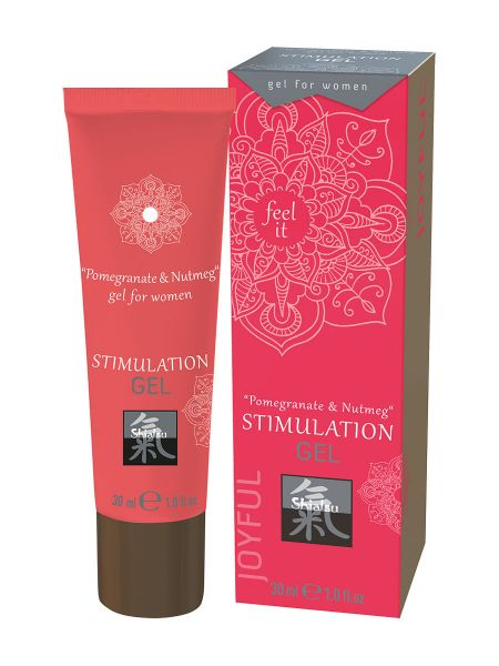 Shiatsu Stimulation Cream Woman: Intimcreme Granatapfel/Muskatnuss (30ml)