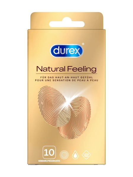 Durex Natural Feeling Kondome 10er Pack