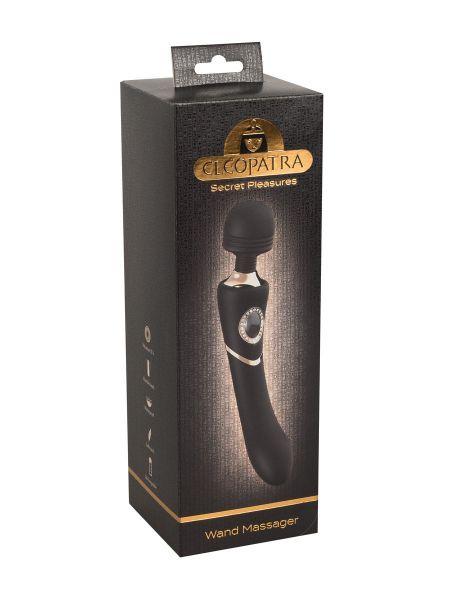 Cleopatra Wand Massager: Wandvibrator, schwarz