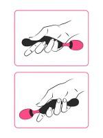 Adrien Lastic Symphony: Wandvibrator, schwarz/pink