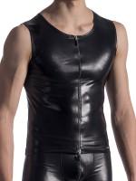 MANSTORE M813: Zipped Vest, schwarz