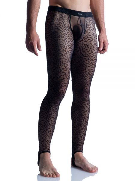 MANSTORE M852: Strapped Leggings, schwarz