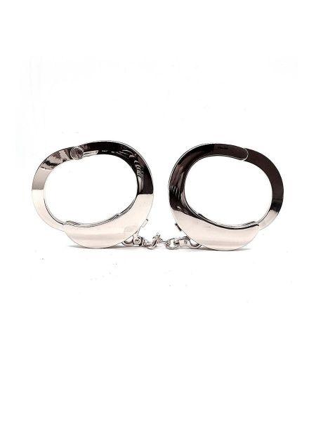 Roomfun UFO Handcuffs: Handschellen, silber poliert