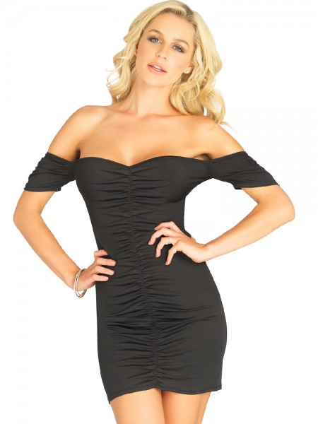Leg Avenue Minikleid: Laverne, schwarz