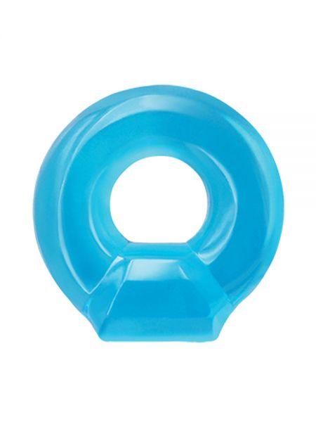 Renegade Drop Ring: Cockring, blau