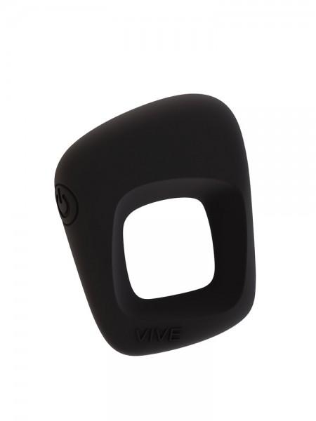 Vive Senca: Vibro-Penisring und Aufliegevibrator, schwarz