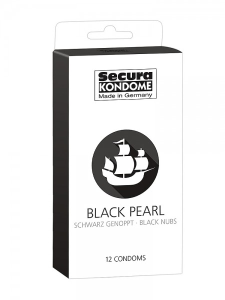 Secura Black Pearl: Kondome, 12er Pack