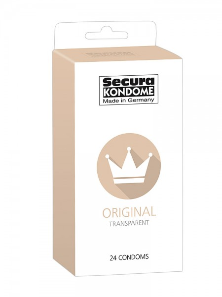 Secura Original: Kondome, 24er Pack