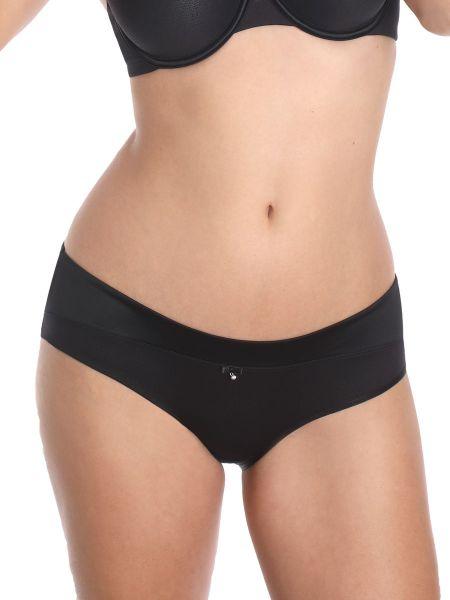 Sassa Sensual Pebble: Panty, schwarz
