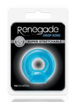 Renegade Drop Ring: Penisring, blau