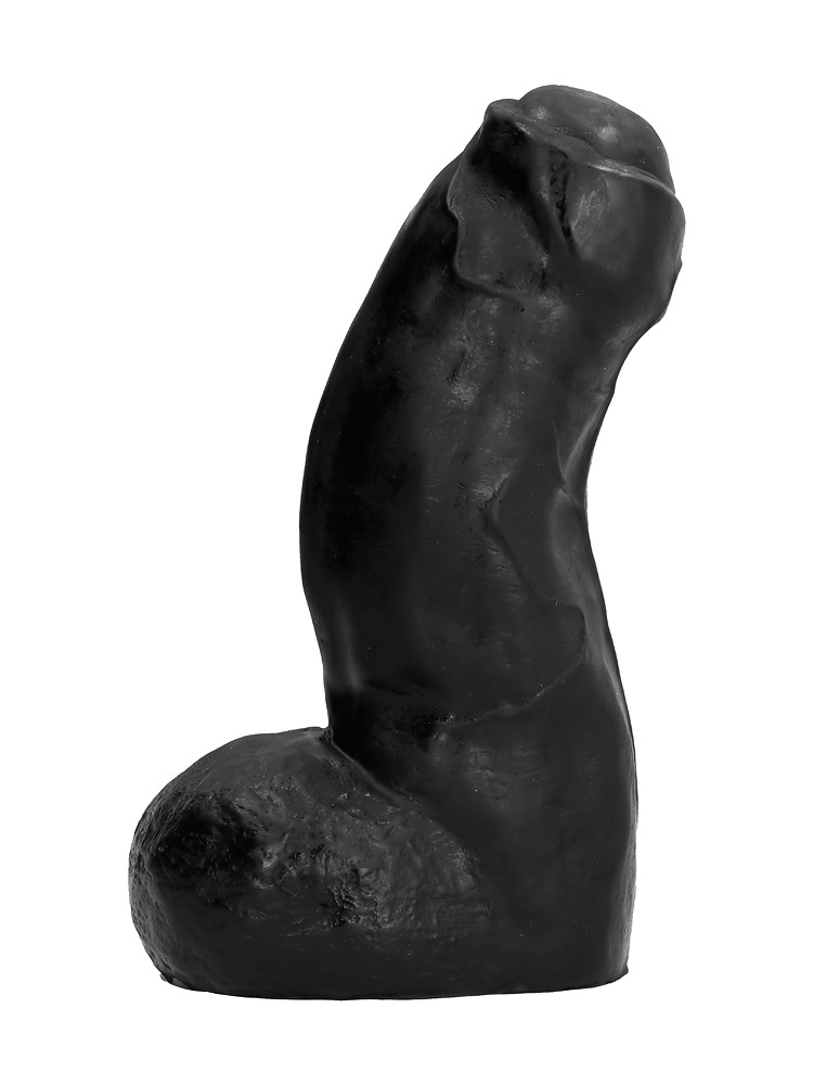 All Black AB03: Dildo, schwarz
