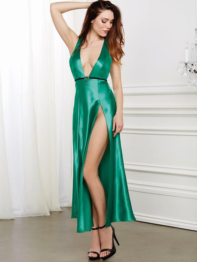 Dreamgirl Negligé, emerald