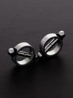 Triune Magnetic Nipple Pinchers: Edelstahl-Magnet-Nippelclips, schwarz