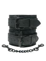 Midnight Lace Cuffs: Handfesseln, schwarz