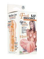 Fresh Innocence Felicia: Masturbator, haut