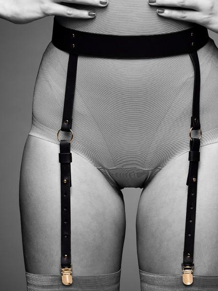 Bijoux Indiscrets Maze: Strapsgürtel, schwarz