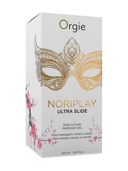 Orgie Noriplay Ultra Slide: Nuru-Massagegel (500ml)