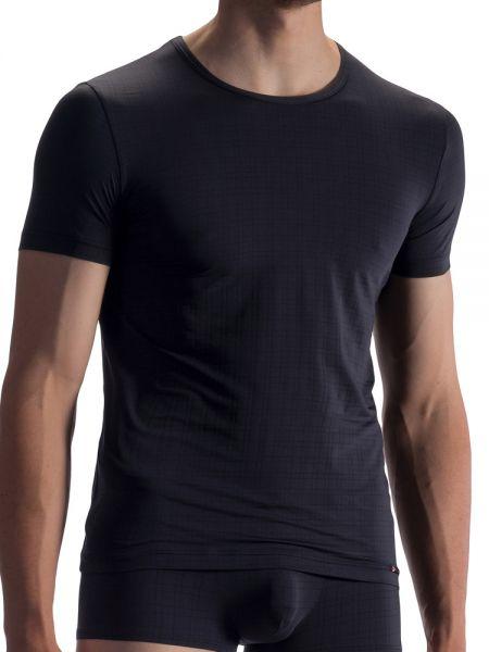 Olaf Benz RED1868: T-Shirt, schwarz