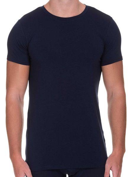 Bruno Banani Infinity: T-Shirt, dunkelblau