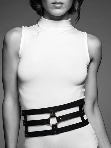 Bijoux Indiscrets Maze: Taillen-Harness, schwarz