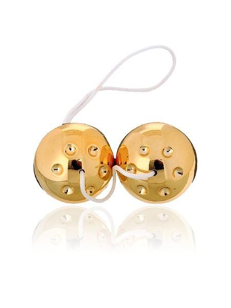 Gold Balls: Liebeskugeln, gold