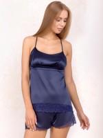 Anabel Arto: Hemdchen-Set, dunkelblau