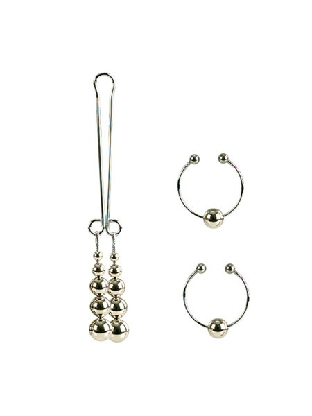 Body Jewelry: Nippelklemmen und Klitorisspange