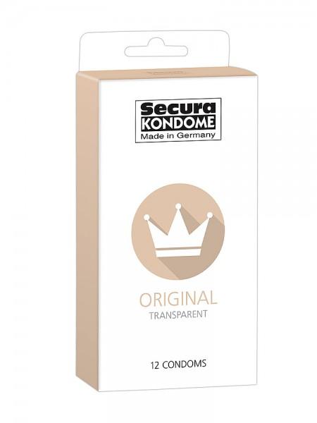 Secura Original: Kondome, 12er Pack