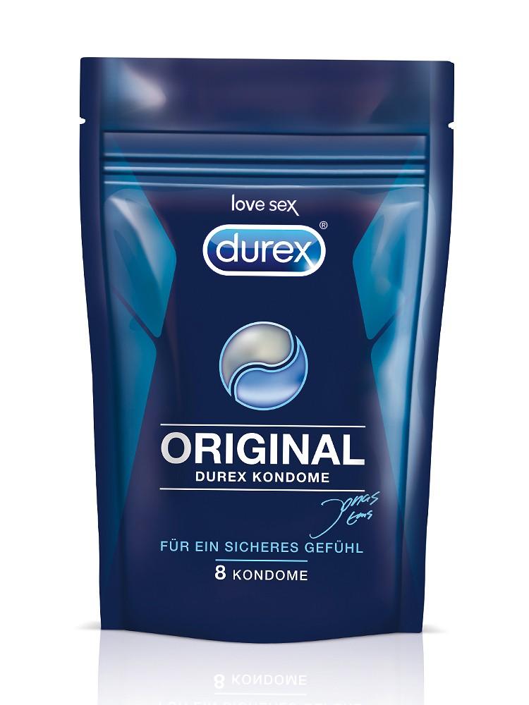 Durex Original: Kondome, 8er Pack