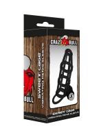 Crazy Bull Sweet Cage: Vibro-Penismanschette, schwarz