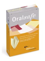 MEDintim Oralsafe Vanille: Latextücher, 8er Pack