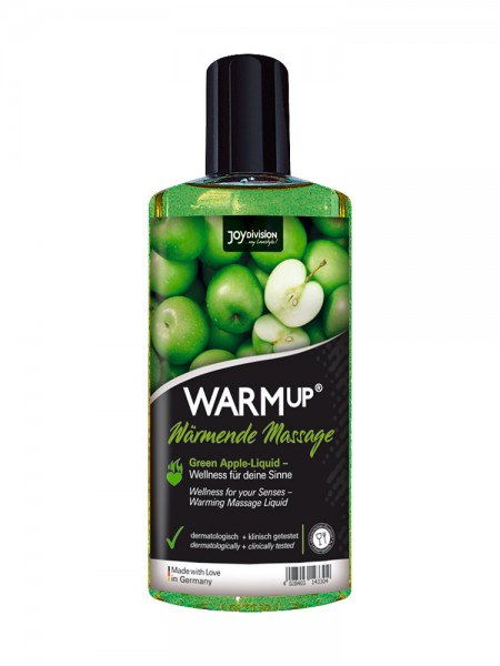 WARMup Massageöl: Green Apple (150ml)