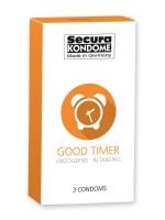 Secura Good Timer: Kondome, 3er Pack