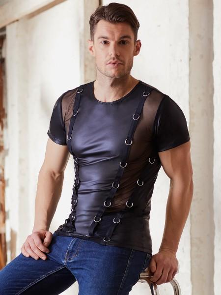 NEK: T-Shirt, schwarz